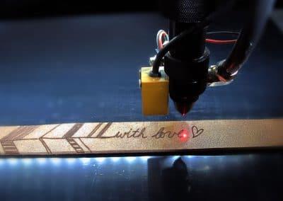 Sanmido Lasergraveringen